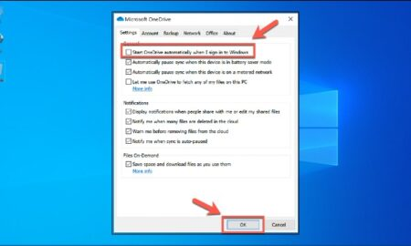 How To Disable Onedrive Backup In Windows 10