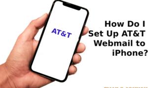Att.net email settings for iphone